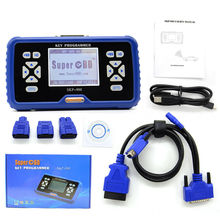 Portugues Original SuperOBD SKP900 Auto Key Programmer V4.2 SKP-900 Key Programmer NO tokens limitation SKP 900 Diagnostic tool