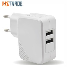 IST EU A Plug Dual Ports USB Portable Charger Dock For iPhone 5 5S 6 6S 7 Plus Samsung Xiaomi Tablet 5V 2A Wall Phone Adapter(China)