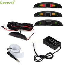 High Quality  New 12 V Universal Electromagnetic Auto Reversing Car Parking Radar Sensor with Led Buzzer for BMW for Audi