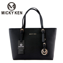 MICKY KEN Brand new2017 women michael handbags big pu leather quality letter female bag designer bolsos mujer sac a main totes