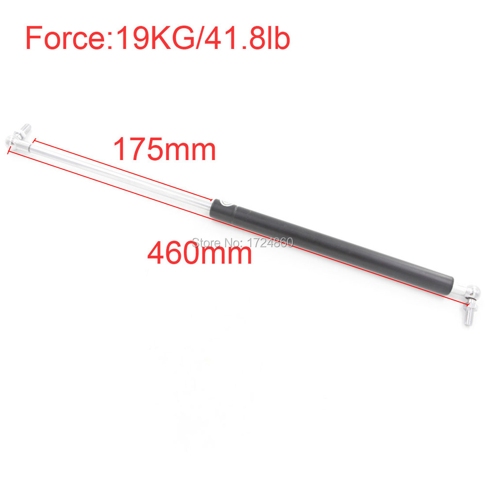 Gas Spring for Funiture Lift 19KG/41.8lb Force 175mm Long Stroke M8 Auto Gas Spring for car 460mm Central Distance<br><br>Aliexpress