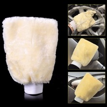 Convenient Microfiber Gloves Cleaning Brush Plush Mitt Car Wash Mitten Washing Tools(China)