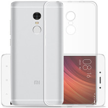 KRY Luxury Clear Soft Silicon Phone Cases Xiaomi Redmi Note 4X Case 4x 4A 3s 3 s Mi5 - ShenZhen Store store