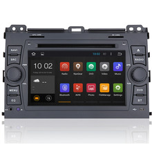 Quad Core 2G RAM Android 7.1 Car Radio Stereo For Toyota Prado Land Cruiser 2004-2009 Car DVD GPS Navigation Bluetooth Wifi 3G