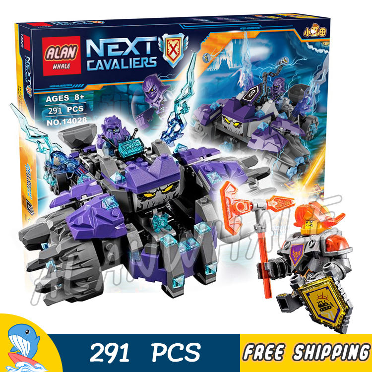 291pcs New Knights 14028 Three Brothers DIY Model Building Kit Blocks Sets Children Toys Nexus Compatible with Lego<br><br>Aliexpress