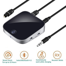 Bluetooth Transmitter Receiver Wireless Stereo Audio Adapter 3.5mm Music Sound Converter TV Tablet Speaker Smartphone