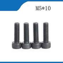 Buy 100pcs Black Screw M5*10mm Hex Socket Head Cap Screw Bolts Stainless Steel Screw m5 screws stainless nails,bolts for $11.69 in AliExpress store