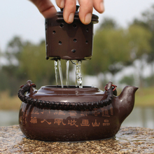 Large Capacity Purple Clay Tea Pot Filter Handmade Quality Goods Teapot Tea Set 700ml W
