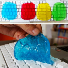 Super Clean Dust Cleaning Glue Slimy Gel Wiper For Keyboard Laptop Car Cleaning Sponge products Car Accessories