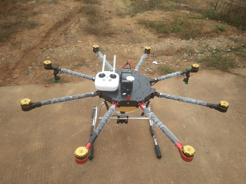 8-axis 5KG Agricultural protection Drone multi-axis UAV For Sprinkle pesticides