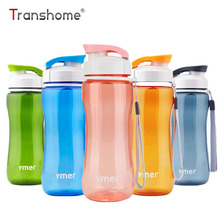 Transhome Healthy Bicycle Water Bottle 560ml Simple Space Sport Drinkware Travel Hiking Running Bottles For Outdoor Sport Travel(China)