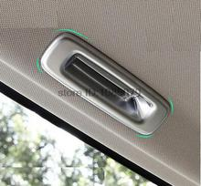 ACCESSORIES FIT FOR HONDA CRV CR-V 2012- CHROME MATTE SUNROOF HANDLE COVER INSERT TRIM GARNISH ROOF WINDOW DOOR