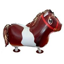 TSZWJ Free shipping 1pcs horse walking animal balloons children's toys balloon wholesale Film