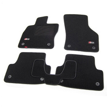 5pcs High Quality Odorless Auto Carpet Mats Perfect Fitted For Audi A3