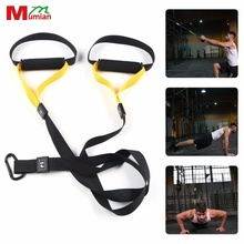 Yoga Gym Trainning Resistance Bands Sport Fitness Equipment Strength Trainer Belt Hanging Strap Spring Home Exerciser Workout(China)