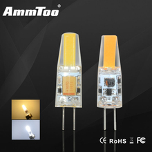 Mini G4 LED Lamp Light COB LED Bulb 3W 6W DC / AC 12V LED G4 COB Light Dimmable 360 Beam Angle Chandelier Replace Halogen Light