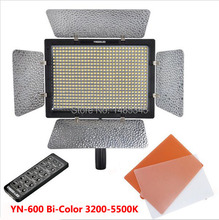 Bi-Color YONGNUO YN600 YN-600 II LED 3200k-5500k Color Temperature Adjustable 600 LEDS LED Illumination Dimming Video Light