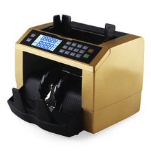 Automatic Money Counter for most Currency Note Bill Cash Counting Machine with UV MG Counterfeit Detector