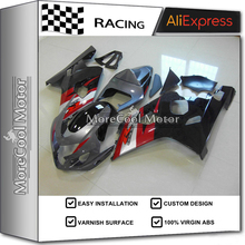 Excellent Painting Job Full Injection GSX-R600 K4 750 2004-2005 ABS Fairing For Suzuki 04 05 Cowling Kit Black Red