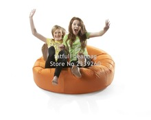 Cover only No Filler- orange island bean bag chair, outdoor sofa cover , family reunion chair(China)