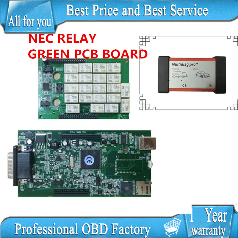 10pcs/lot DHL New Multidiag pro+ plus tcs cdp plus 2015.3 R3/R1 version free active without bluetooth NEC RELAY GREEN pcb<br><br>Aliexpress