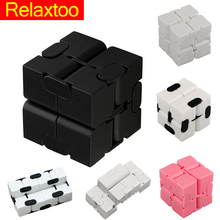 Buy Fidget Cube Newest Fashion Infinity Cube High Figet Cube Plastic Hand Cube Magic Finger Spinner Toys ADHD Adult Kid for $2.27 in AliExpress store