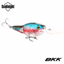 SeaKnight SK028 2 Section Joint Bait Crankbait 1PC 70mm 13.5g 0~1.5M Floating Wobblers Hard Fishing Lures BKK Hooks Fishing Bait(China)