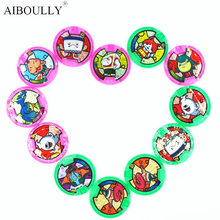 [AIBOULLY] Japanese Anime Yokai Watch DX Peripheral Yo-Kai Wrist Watch Medals Collection Emblem Toy 879(China)