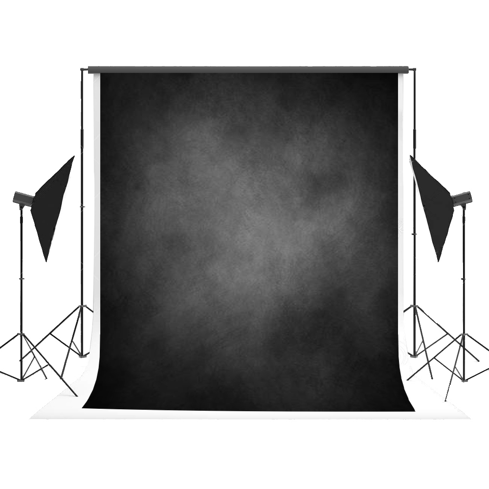 Texture Solid Color Background Black Retro Photography Backdrops Photocall for Newborn Children Fond Studio Photos Kate 5x7ft<br>
