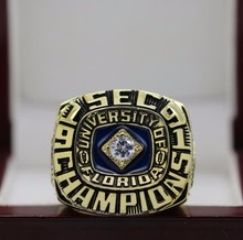 1991 FLORIDA GATORS SEC NCAA FOOTBALL National Championship Ring 7-15 Size  The most beautiful gift
