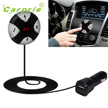 New Hot Sale Handsfree Wireless Bluetooth 4.0 FM Receiver 3.5mm TF Car Kit Mp3 Player AUX NOV29