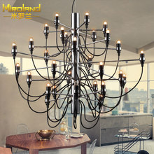 The Christmas tree lamp simple modern dining room LED bar store hall project  Pendant Lights