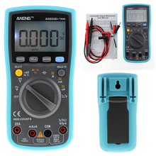 ANENG 6000 counts LCD Digital Multimeter DMM with Detector DC AC Voltage Current Meter Resistance Diode Capaticance Tester(China)