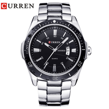 NEW curren watches men Top Brand fashion watch quartz watch male relogio masculino men Army sports Analog Casual 8110(China)