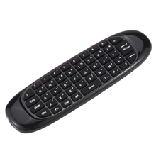 New Mini 2.4G Remote Control Gyroscope Fly Air Mouse Wireless Keyboard Handheld for Android TV Smart TV Box HTPC PC(China)