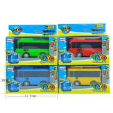 Single sale Toy Car Scale Model car tayo children miniature bus mini plastic babies toys  little tayo tayo bus toys for children