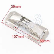 Quality Certifed 4PCS Large Iron Bridge Hinge 107mm x 39mm Billiard Hinges