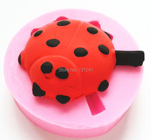 Design 578  Ladybug Silicone  Mold,Sugar Mold,Chocolate Mold, Cake Decoration Tool, Food Grade Material