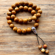 Buy Handmade 10mm Natural stone beads 33 Prayer Beads Islamic Muslim Tasbih Allah Mohammed Rosary women men for $7.57 in AliExpress store