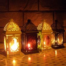 European Style Wall Hanging Votive Candle Holder Wedding Candlestick Hanging Lantern Home Wedding Decoration Gifts Crafts(China)