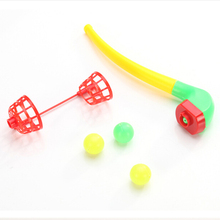 Hot Sell Magic ball blow music children baby toys Childhood memories of plastic blowing blowing High Quality(China)