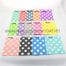 500 pcs/lot  Festival gift bags Birthday Baby Shower Party Supplies  Big Polka Dot Paper Bags