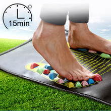 Health Care Gravel Reflexology Treatment Foot Massage Mat Medialbranch Fitness Stone Road Foot Pad Square Feet Massage Cushion