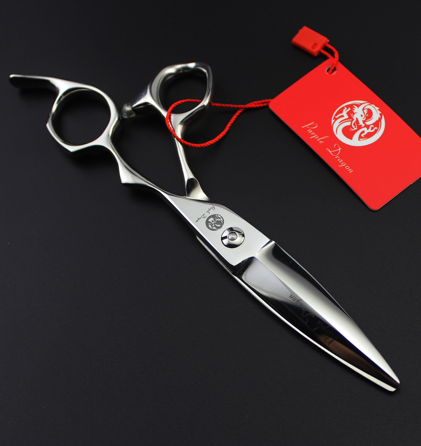 Professional 6.0 inch hair cutting modified large sliding lancet scissors<br>