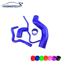HOSINGTECH- for seat 1.8T 150 / A3 150ps high performance silicone intercooler turbo boost hose kit