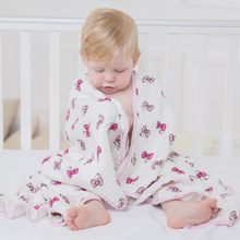 "Multifunctional Double Layers Baby Blanket for Spring Autumn Infant Swaddle Bedding Quilt Kids Bath Travel Towel Size 47*47""(China)"