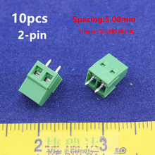 Free Shipping 10PCS KF/XK128-2P  300V 10A Spacing 5.00mm pitch connector pcb screw terminal block connector 2pin