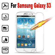 For Samsung Galaxy S 3 I 9300 9305 Screen Protector 2.5D cover Tempered Glass Film For Samsung Galaxy S3 I9300 I9305 case
