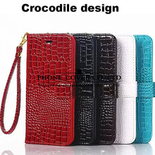Crocodile Design Wallet Leather Case Cover For Samsung Galaxy A3 A5 A7 A8 J2 J3 J5 J7 2016 PRIME E5 Note 5 4 S7 Edge C5 S8 2017(China)