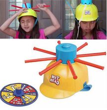 Wet Head Hat Water Game Challenge Wet Jokes And funny Roulette Family Party Prank Game toys Gags & Practical Jokes For kid gift